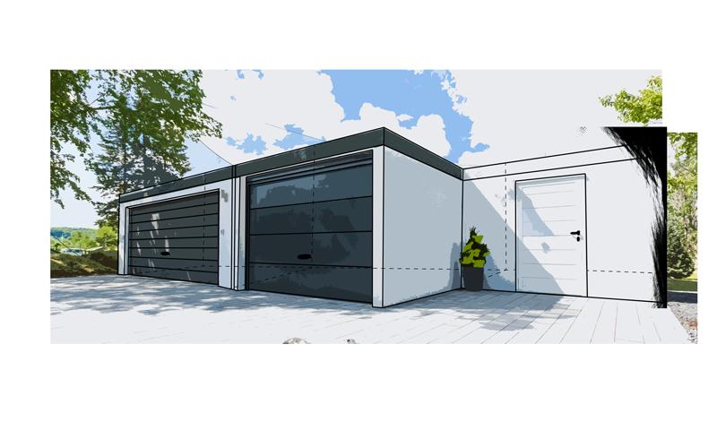Berühmt Rützel Garagen – Fertiggaragen ZP57